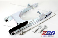 Alloy Swing Arm (+13cm Extended, Drum / Disk Brake w/ Brake Rod, Chain Tensioner)