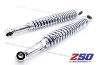 Rear Shock Absorber (330mm C-C, Mono Shock, Chromed)