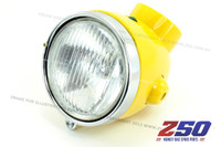 Headlight Assy (Z50A, Yellow, Single Indicator, Steel Case)