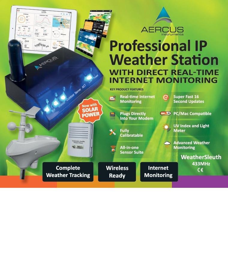 Aercus Instruments™ WeatherSleuth®