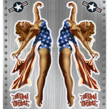 Nose Art Series: Miss USA Pin-up