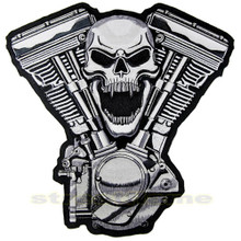 Skull Motor Patch - Large