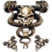 Snake Skull Viper Decal