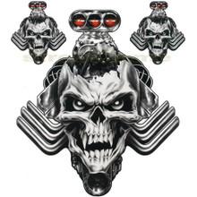 Evil Motor Skull Decals