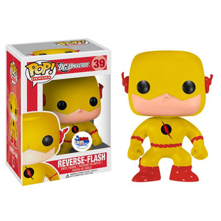Funko Pop Reverse Flash With Dcc Toymatrix Com Sticker