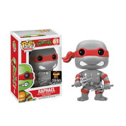 Funko Pop Grey Raphael Teenage Mutant Ninja Turtles Alamo City Comic Con Exclusive