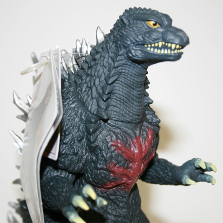 Godzilla 2004 Red Chest 9""