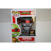 Funko Pop Grey Metallic Raphael Teenage Mutant Ninja Turtles