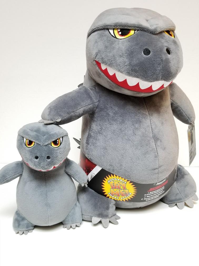 Ty Puppies Stuffed Animals, Godzilla Hug Me Shake Action 16 Plush Neca Phunny Toymatrix