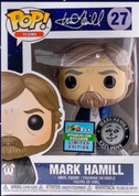 FUNKO POP! MARK HAMILL WHITE SHIRT VARIANT LE 1000 DESIGNERCON EXCLUSIVE