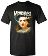 Famous Monsters of Filmland   BRIDE OF FRANKENSTEIN   T-Shirt adult unisex shirt