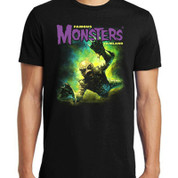 Famous Monsters of Filmland   CREATURE FROM THE BLACK LAGOON  [SWIMMING]  T-Shirt adult unisex shirt