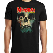 Famous Monsters of Filmland  Tales from the Crypt FEARBOOK SKULL  T-Shirt adult unisex shirt