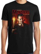 Famous Monsters of Filmland  BELA LUGOSI DRACULA  T-Shirt adult unisex shirt