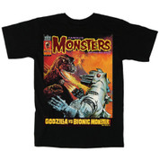 Famous Monsters of Filmland #135 Godzilla vs the Bionic Monster aka Mechagodzilla Toymatrix.com Exclusive T-Shirt adult unisex shirt