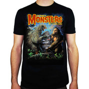 Famous Monsters of Filmland 1962 Godzilla vs Toho King Kong T-Shirt adult unisex shirt
