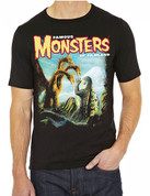 Famous Monsters of Filmland Godzilla vs King Ghidoarh T-Shirt adult unisex shirt