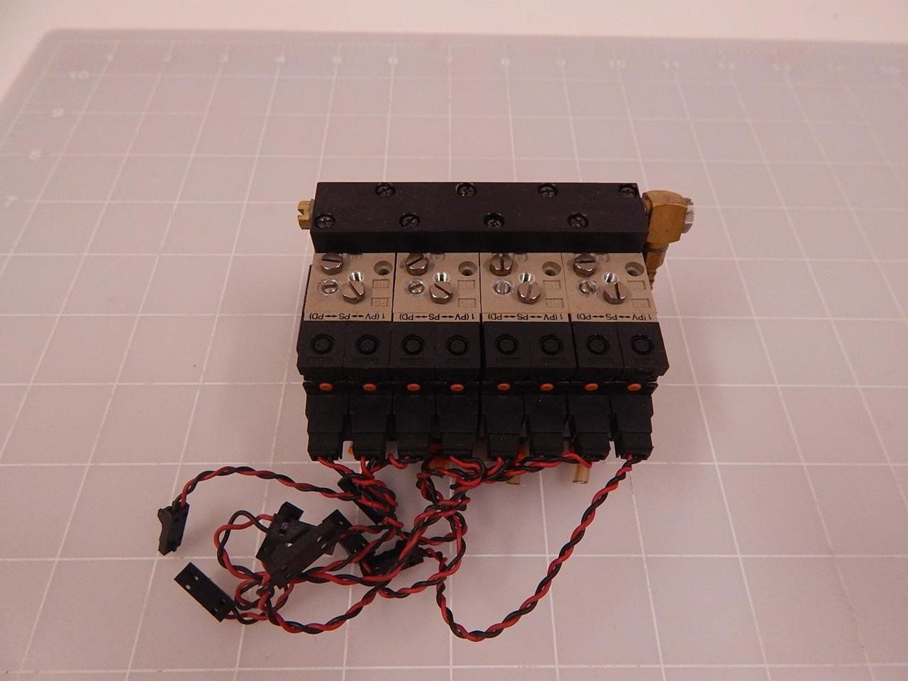 Assembly Of Smc Nzx1071 K16lz Vj114 6loz Solenoid Valves W Vacuum How To Wire A Switch Image 1