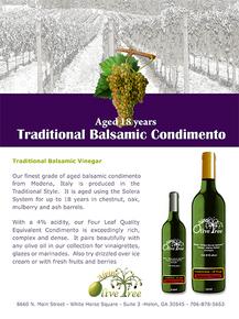 Traditional Balsamic Condimento