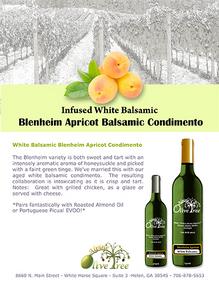 Blenheim Apricot Balsamic Condimento