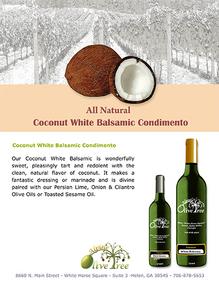 Coconut Balsamic Condimento
