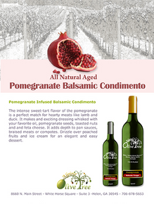 Pomegranate Balsamic Condimento