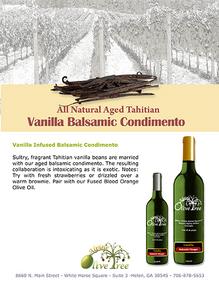 Vanilla Balsamic Fusti Tag