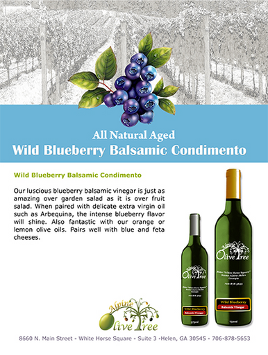 Wild Blueberry Balsamic Fusti Tag