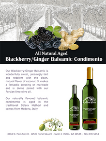 Blackberry-Ginger Balsamic Condimento