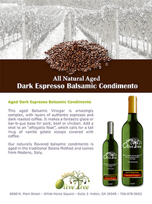 Dark Espresso Balsamic Condimento