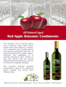 Red Apple Balsamic Condimento