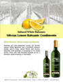 Sicilian Lemon Balsamic Fusti Tag