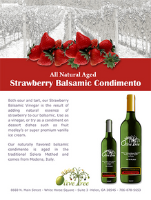 Strawberry Balsamic Condimento