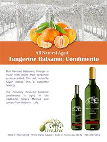Tangerine Balsamic Fusti Tag