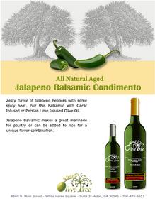 Jalapeno Balsamic Condimento