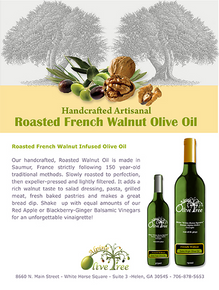 Roasted French Walnut Oil