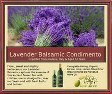 Lavender Balsamic Condimento