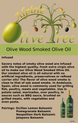 Olive Wood Smoked Fusti Tag
