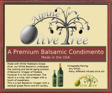 A Premium Balsamic Fusti Tag