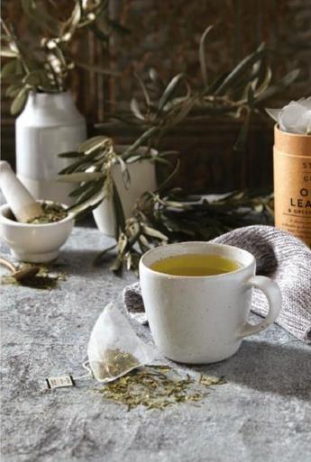 Olive Leaf and Green Tea Sencha Blend