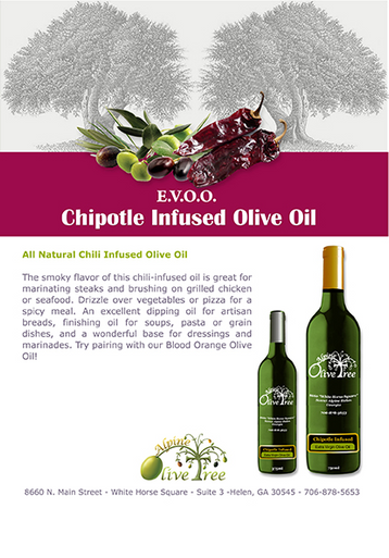 Chipotle Olive Oil Fusti Tag