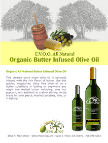 Organic Butter Infused Olive Oil