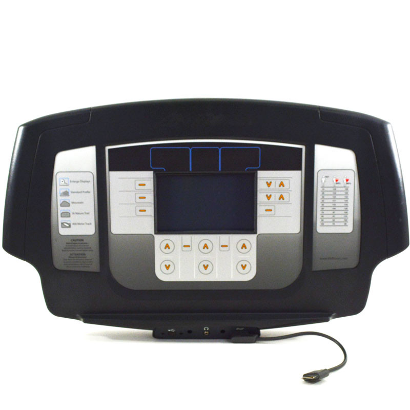 """Life Fitness Treadmill Deck Replacement: Console, Lifefitness 7"""" LCD, Inspire Treadmill, Elevation"""