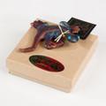 Raku Pottery Gecko