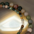 Indian Agate Power Brcaelet