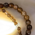 Brown Agate gemstone bracelet