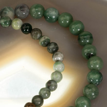 African Jade Gemstone Bracelet