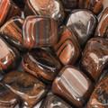 Tiger Iron Tumbled Stone - Large