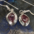 Pink Tourmaline Drop Earrings - A