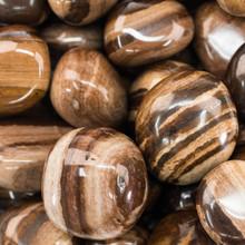 Chocolate Jasper Tumbled Stone